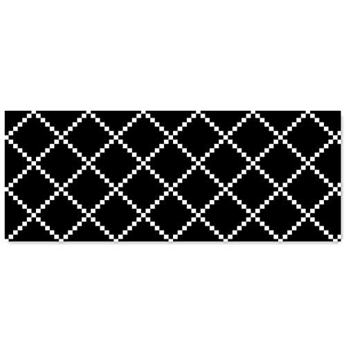 Levoberg Küchenläufer waschbar Rutschfest, Teppichläufer Küche, viele Größen, moderner Teppich Läufer für Flur, Küche, Schlafzimmer, Niederflor Flurläufer, Küchenläufer 180 x 60cm