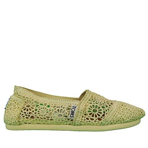 Toms Crochet Shoes White