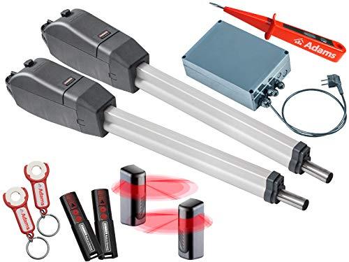 Sommer Twist 350 Drehtorantrieb 2-flüglig + 2 Stück 2-Befehl Handsender 4026 + Lichtschranken 7029 Set 4in1G