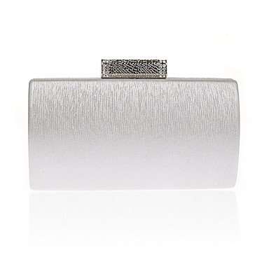 pwne L. In West Frau'S Mode Diamond Abendessen Tasche Silver