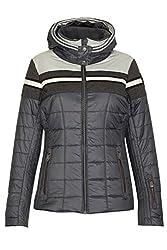 Amylin ist eine sportlich chice Jacke in Daunenoptik, die an kalten Wintertagen schön warm hält. Sie ist atmungsaktiv, wind- und wasserabweisend und mit einem Schneefang ausgestattet. Das glänzende Stepp-Material in Kombination mit Einsätzen in Wollo...