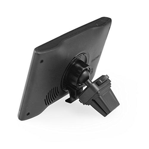 APPS2Car Support GPS Garmin Nuvi Série à Grille Ventilation Rotatif 360° et Support Téléphone Voiture [2 en 1]