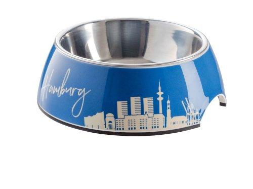 HUNTER Melamin-Napf Hamburg, mit Edelstahlnapf, 350 ml, Farbe Hamburg