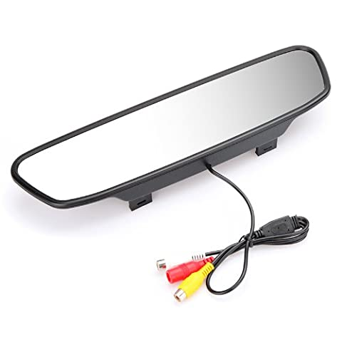 KKmoon 5 Zoll Digital Color TFT LCD Car Rearview Mirror