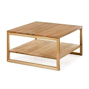 Alkove Hayes Coffee Table With Shelf 125 X 85 X 44cm Wild Oak