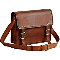 jaald Genuine Leather Messenger Bag Laptop Briefcase Satchel Mens Shoulder Bag