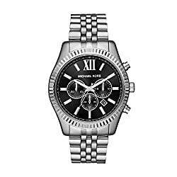 Michael Kors Analog Black Dial Mens Watch - MK8602
