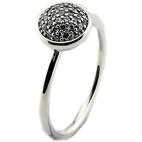 EMOSAN 2016 otoño Europea deslumbrante gotita, claro CZ 100% auténtico 925 anillos de plata esterlina para las mujeres (52#)