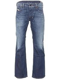 Diesel ZATINY Coupe Régulière pour homme jeans–Bleu Délavé–008X R 32W/32L