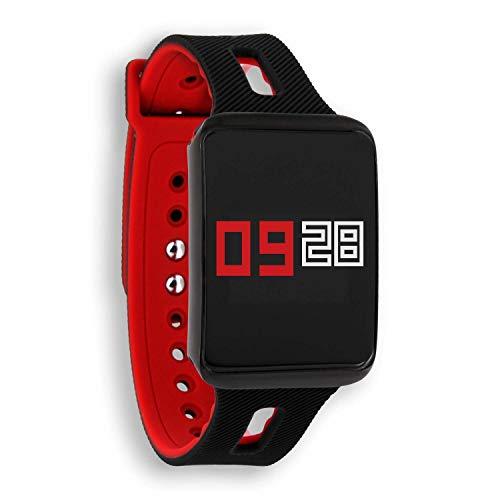 X-WATCH Keto Fitness Tracker Android und ios – Fitness Armband Blutdruck, Puls, Schritte – Fitness Armband Schwimmen, Laufen, Radfahren – Smartwatch Damen und Herren