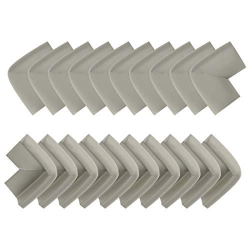 uxcell Tischkante aus Schaumstoff, Rolle mit weichem, bequemem Stoßstangenschutz, a19042900ux0748, grau, 20pcs