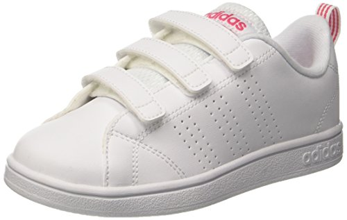 adidas Damen VS Advantage Clean CMF Fitnessschuhe Weiß (Bb9978 Blanco) 35 EU
