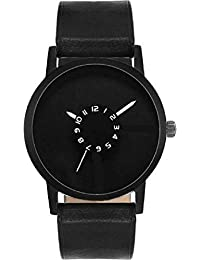 Xforia Boys Watch Black Leather New Collection Analog Watches For Men