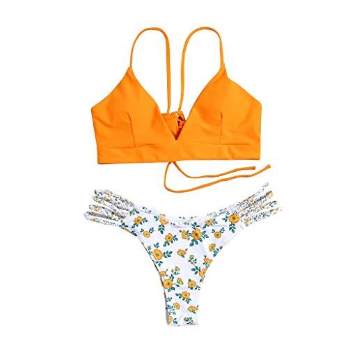 ecfda0301b6a riou Bikini Conjuntos de Bikinis para Mujer Push Up Mujeres Traje de ...