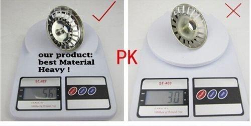 81 mm JZK/® filtro de fregadero de acero inoxidable filtro de la tapa del filtro para el filtro fregadero cuenca del fregadero de la cocina
