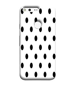 Dotted Pattern, White, beautiful Pattern, Amazing Pattern, Printed Designer Back Case Cover for Google Pixel XL