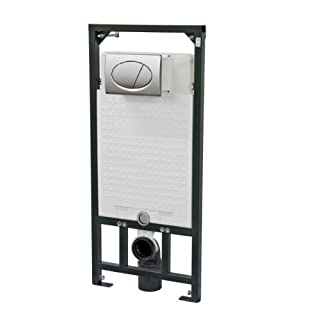 Aquafit Wall Mounted Wc Frame 1.12M installation system inc Flush Plate A101/120M71