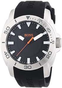 Boss Orange Herren-Armbanduhr XL Big Day Analog Quarz Silikon 1512948
