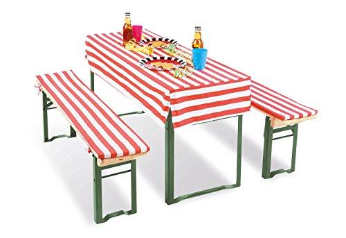Pinolino 206065 - Outdoor spielgeräte, Tischhusse für Kinderfestzeltgarnitur 'Sepp'