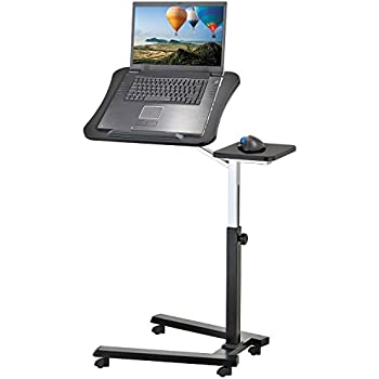 tatkraft joy laptoptisch laptopst nder auf rollen. Black Bedroom Furniture Sets. Home Design Ideas