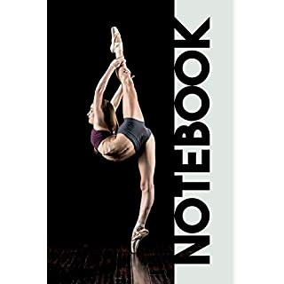Notebook: Acro Dance Pretty Composition Notebook for tracking Flexibility Stretches