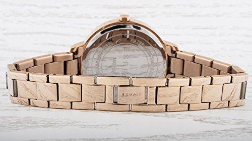 Esprit Damen-Armbanduhr Melanie Analog Quarz Edelstahl beschichtet ES108152003 - 2