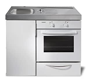 Singlek che mit backofen mini k che kompaktk che b rok che for Singlekuche amazon