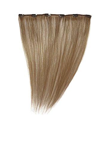 Love Hair Extensions - LHE/A1/QFC12/14/27S - 100 % Cheveux Naturels - Barrette Unique Extensions à Clipper - Couleur 27S - Blond Fraise Léger - 36 cm