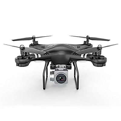 Drone With Camera HD 1080P MiNi 6-Axis Gyroscope FPV Quadcopter Live Video Wide Angle Gravity sensor Trajectory Flight Altitude Hover Drones for Beginners Kids And Adults
