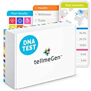 TellmeGen DNA Test Herkunft (Ancestry) + Gesundheit | +390 Online-Berichte: Der umfangreichste Gentest (ink. A