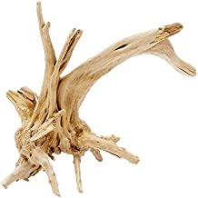 Pinzhi Wood Natural Trunk Driftwood Tree Acuario Tanque de Peces Decoración Ornamento ( 15-20cm)