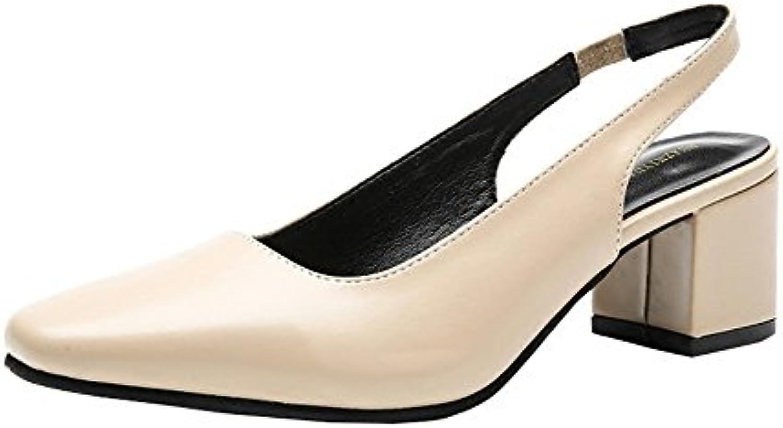 XZGC Travailler avec Tête Carrée Rétro Chaussures de Talon ÉpaisB07BBN77LSParent ÉpaisB07BBN77LSParent ÉpaisB07BBN77LSParent 33d1e7
