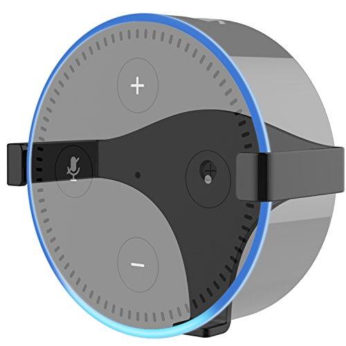 Ständer Wandhalterung für Echo Dot 2 (Schwarz)