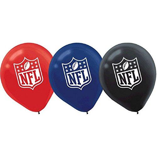 DesignWare NFL Latex Luftballons, 30,5cm Sortiert (Party Supplies Superbowl)