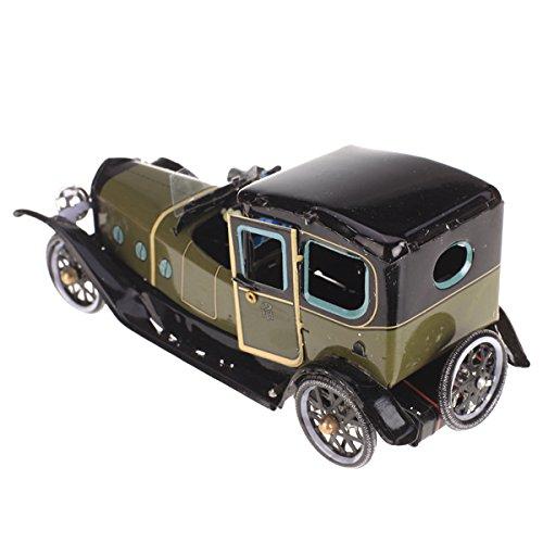 Grün Iron Wind up Chauffeur Limousine / Touring Auto Limousine Sammlerstücke Spielzeug