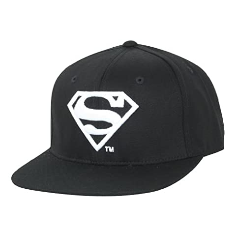 ililily Superman Shield Embroidery New era with Adjustable Strap Trucker