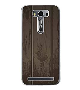 Fiobs Designer Back Case Cover for Asus Zenfone 2 Laser ZE500KL (5 Inches) (Wood Plant Trees Multi Color Beautiful)