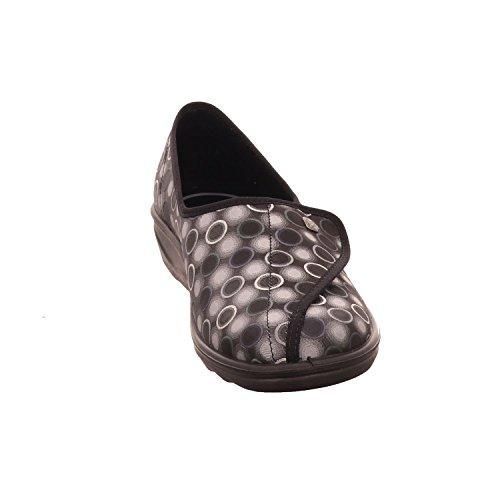 Romika 7007470/710, Pantofole donna Grau