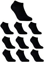 Lot de 10 Paires de Chaussettes Coton de Sport Pour Homme CloSoul Direct