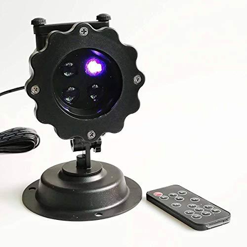 (Projektion Lampe LED Dynamic Projektor Animated Christmas Lampe Garden Indoor und Outdoor Night Decoration Christmas Light Projector)