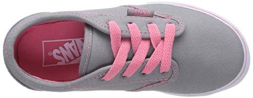 Vans Z Atwood Low, Baskets mode filles Gris (Grey/Pink Lemonade)