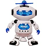 SAH Dancing Robot With 3D Lights And Music | Kids Robot Toys, Multi Color