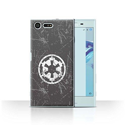 Stuff4® Hülle/Case für Sony Xperia X Compact/Galaktisches Imperium Inspiriert Muster/Galaktisches Symbol Kunst Kollektion (Galaktische Symbole)