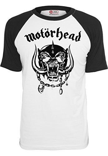 merchcode-jungen-motorhead-everything-louder-raglan-tee-1012-t-shirt-kurzarm-wht-blk-m