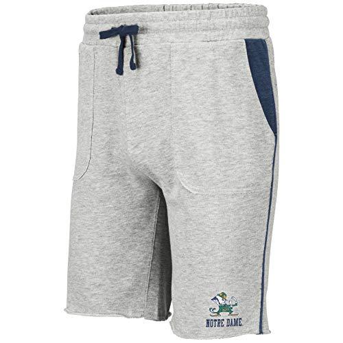 Colosseum NCAA Herren Trainingshose mit Taschen, Grau, Herren, Notre Dame Fighting Irish, X-Large