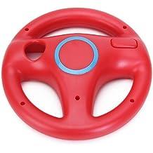 Volante Mario Kart Carreras Juegos Para Nintendo Wii Rojo Racing Steering Wheel