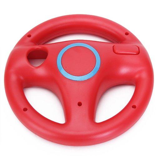 Volante Mario Kart Carreras Juegos Para Nintendo Wii Rojo Racing Steer