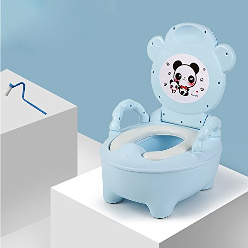 Children's toilet Enfants Toilette- Toilettes pour Enfants Extra Large Mâle Et Femelle Bande Dessinée Anneau De Toilette Urinoir Enfant 0-1-3-6 Ans Rose PP Bébé Toilette