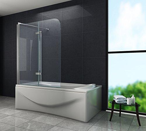duschwand ecke Eck-Duschtrennwand AROUND 70 (Badewanne)