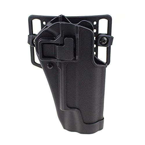 Gexgune Taktische rechte Hand CQC Pistole militärische Concealment Taille Gürtel Loop Paddle (4 Modelle 2 Farben optional) -